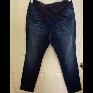 Indigo Blue- Ladies Maternity Jeans- Size M (8-10)